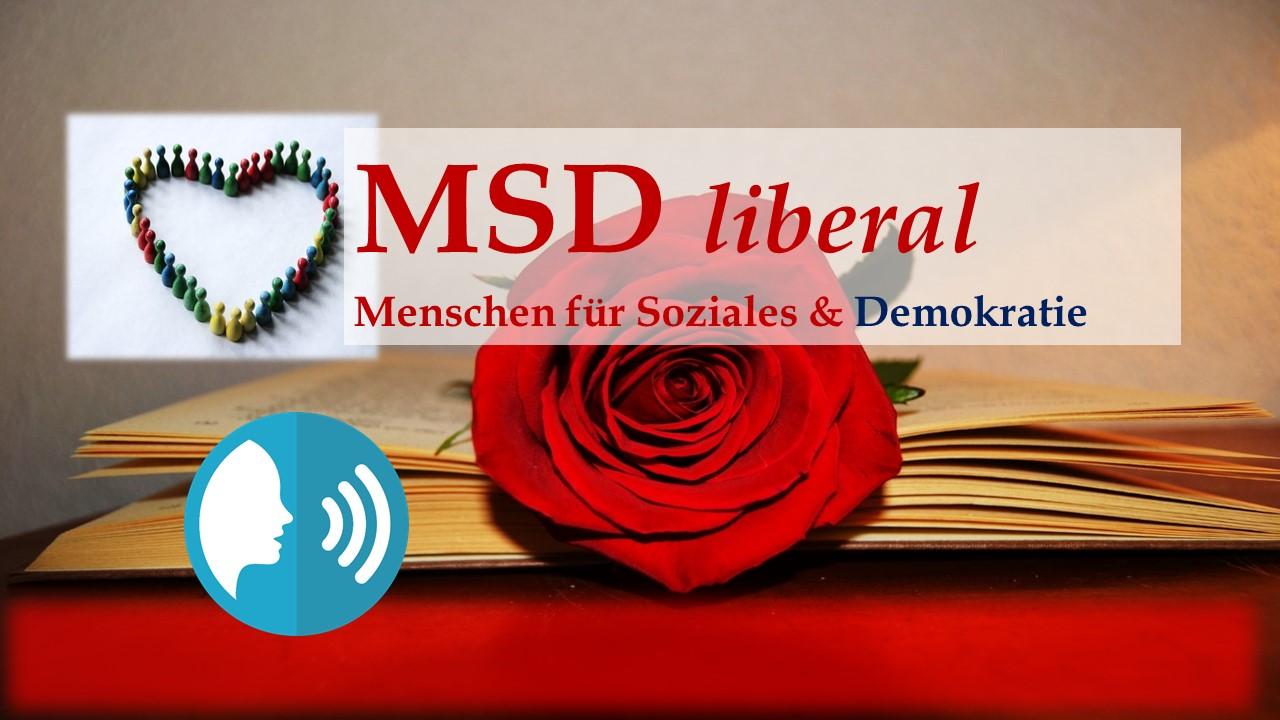 MSD liberal: Der Alarm und Weckruf von Bundespräsident Dr. Frank-Walter Steinmeier