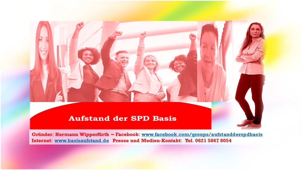 Aufstand der SPD Basis – Basisaufstand in der SPD präsentiert sich mit neuer Web-Site