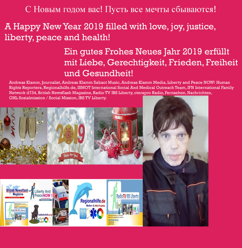 Ein gutes Frohes Neues Jahr 2019