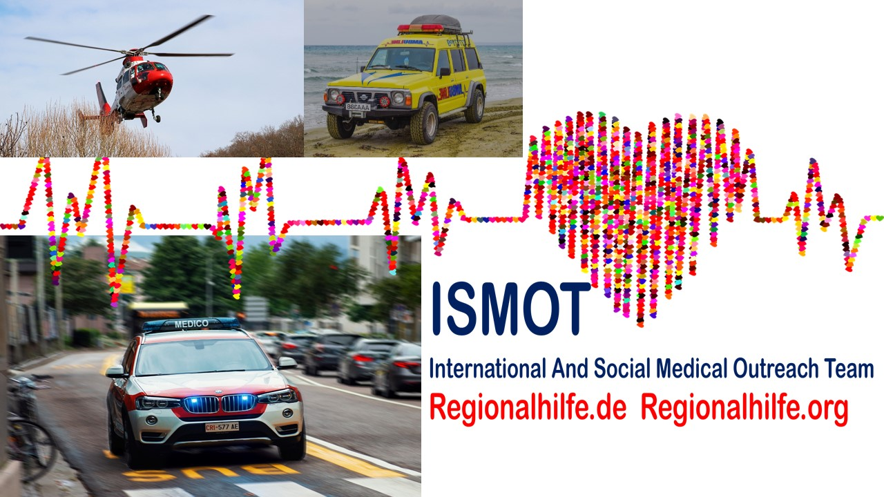 ISMOT International Social And Medical Outreach Team: Andreas Klamm bestätigt erneut das Bestehen mehrer schwerer Notfälle und Notlagen