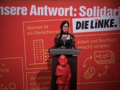 """Melanie Wery-Sims, DIE LINKE: """"Von deutschem Boden darf kein Krieg mehr ausgehen"""""""