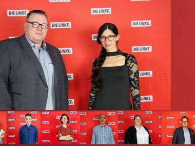 Landesliste: David Schwarzendahl und Melanie Wery-Sims wollen als Doppelspitze DIE LINKE in Rheinland-Pfalz in den Landtag führen