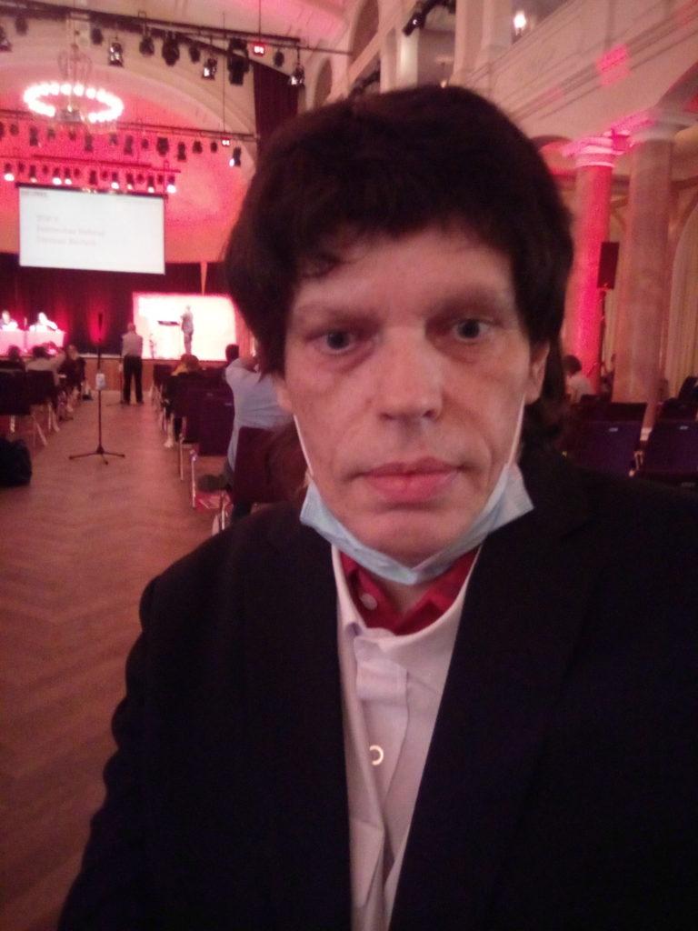 Soziales Engagement im Rollstuhl: Andreas Klamm ist Kandidat für die Landtagswahlen in Rheinland-Pfalz am 14. März 2021 auf Listenplatz 20 für DIE LINKE